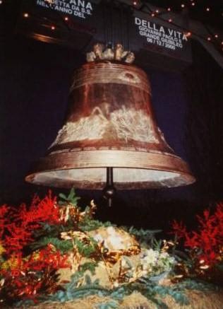 campanadella vita benedetta da gpII Vercelli