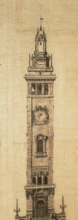 torre delle campane  prog. arc. beltrami